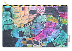 Orbs Carry-all Pouch by Nancy Jolley