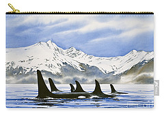Orca Carry-all Pouch by James Williamson