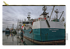 Carry-all Pouch featuring the photograph Orca Warrior by Randy Hall