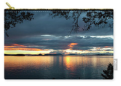 Orcas Island Sunset Carry-all Pouch
