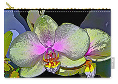 Orchid 2 Carry-all Pouch by Pamela Cooper