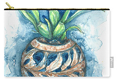 Orchid And Barnacle Carry-all Pouch