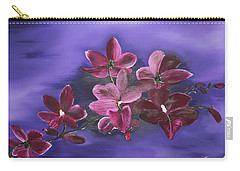 Orchid Blossoms On A Stem Carry-all Pouch