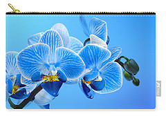 Orchid Blue Carry-all Pouch by Mark Rogan