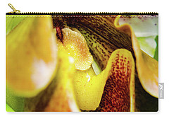 Orchid Faces Carry-all Pouch
