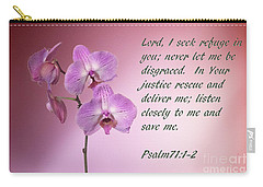 Orchid In The Pink Psalms 71 Carry-all Pouch