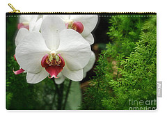 Orchid White Carry-all Pouch