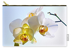 Orchid With Sky Background Carry-all Pouch