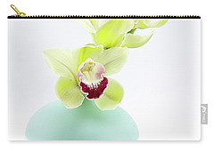 Orchids In Blue Jar Carry-all Pouch