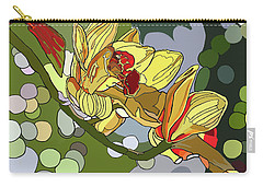 Orchids In Sunlight Carry-all Pouch