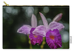 Orchids Love The Rain Carry-all Pouch