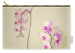 Orchids On Sideboard Carry-all Pouch