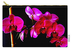 Orchids Carry-all Pouch by Ron Davidson