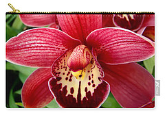 Orchids Up Close Carry-all Pouch