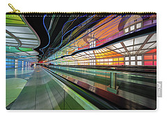 Illuminated Underpass, Chicago Airport Carry-all Pouch