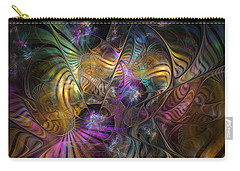 Carry-all Pouch featuring the digital art Ordinary Instances by NirvanaBlues