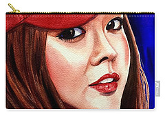 Carry-all Pouch featuring the painting Ordinary Moments by Michal Madison