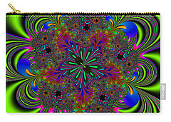 Carry-all Pouch featuring the digital art Orditively by Andrew Kotlinski