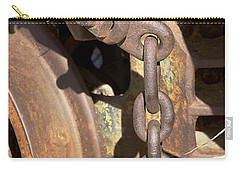 Ore Car Chain Carry-all Pouch by Phyllis Denton