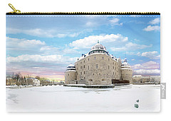 Orebro Castle Carry-all Pouch by Marius Sipa