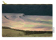 Carry-all Pouch featuring the photograph Oregon Canyon Mountain Layers by Leland D Howard