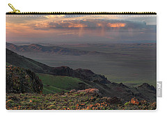Carry-all Pouch featuring the photograph Oregon Canyon Mountain Views by Leland D Howard