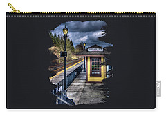 Oregon City Train Depot Carry-all Pouch by Thom Zehrfeld
