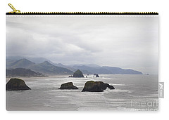 Oregon Coast Mountain Clouds Landscape Carry-all Pouch by Andrea Hazel Ihlefeld