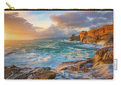 Carry-all Pouch featuring the photograph Oregon Coast Wonder by Darren White
