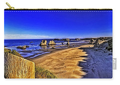 Oregon Coastal Beauty-2 Carry-all Pouch by Nancy Marie Ricketts