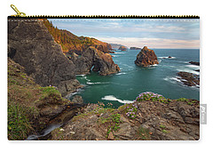 Carry-all Pouch featuring the photograph Oregon Coastal Scenic by Leland D Howard