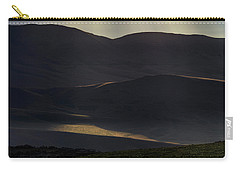 Carry-all Pouch featuring the photograph Oregon Mountains 1 by Leland D Howard