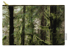 Oregon Old Growth Coastal Forest Carry-all Pouch