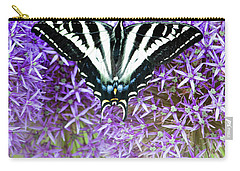 Carry-all Pouch featuring the photograph Oregon Swallowtail by Bonnie Bruno