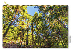 Carry-all Pouch featuring the photograph Oregon Trees by Jonny D