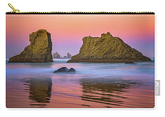 Carry-all Pouch featuring the photograph Oregon's New Day by Darren White