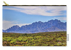 Organ Mountains  Carry-all Pouch by Gina Savage