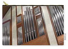 Carry-all Pouch featuring the photograph Organ Pipes by Ann Horn