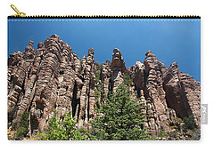 Carry-all Pouch featuring the photograph Organ Pipes by Joe Kozlowski