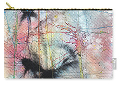 Carry-all Pouch featuring the painting Organic Autumn by Rebecca Davis