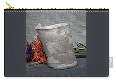 Organic Marbled Vase Carry-all Pouch
