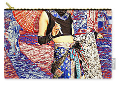 Oriental Cosplayer Carry-all Pouch by Ian Gledhill
