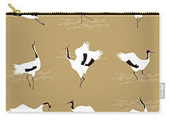 Oriental Cranes Carry-all Pouch