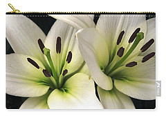 Oriental Lily Named Endless Love Carry-all Pouch