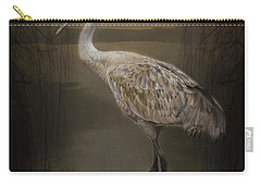 Oriental Sandhill Crane Carry-all Pouch