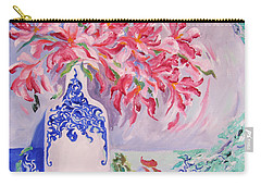 Oriental Spring Carry-all Pouch