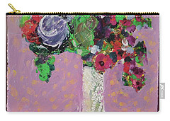 Original Bouquetaday Floral Painting 12x12 On Canvas, By Elaine Elliott, 59.00 Incl. Shipping Carry-all Pouch