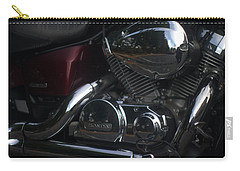 Original Motorcycle File Carry-all Pouch by Suzanne Powers