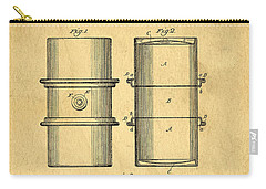 Original Patent For The First Metal Oil Drum Carry-all Pouch