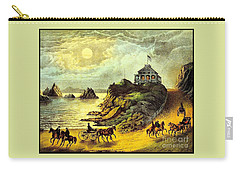 Original San Francisco Cliff House Circa 1865 Carry-all Pouch